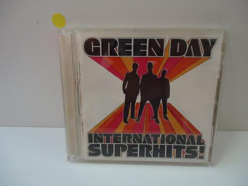 Cd Green Day - International Superhits  - By Trekus Vintage Original