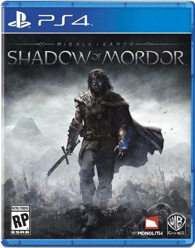 Middle Earth Shadow Of Mordor Jogo Ps4 Português  Gráti Original