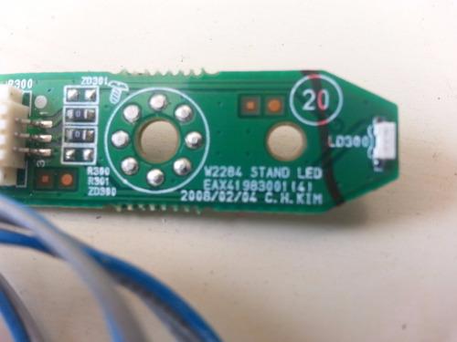 Placa Led Monitor LG W2284f Original