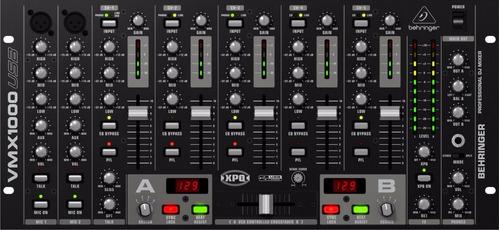 Mixer D J Profissional - Vmx 1000 Usb 7 Canais