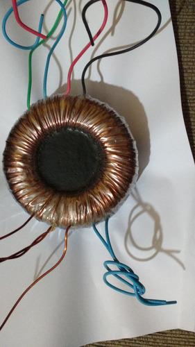 Transformador Toroidal Para Amplificadores Ate 500w Excelent Original