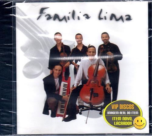 Família Lima Cd Single Dançando Contigo 4 Versões - Lacrado Original