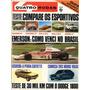 Quatro Rodas Nº163 Fevereiro 1974 Charger Maverick Opala Ss