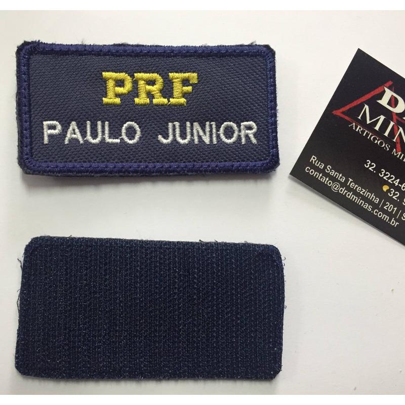 Etiqueta Bordada Padrão PRF