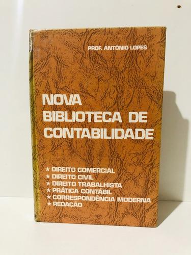 Livro Nova Biblioteca De Contabilidade E Prática Comercial . Original