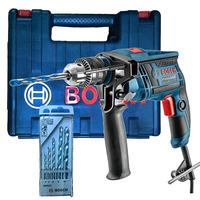 Furadeira de Impacto 650W 13mm GSB 13 RE Bosch +  Kit Brocas