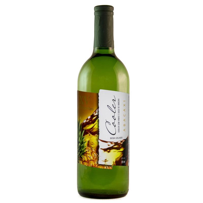 Cooler de Vinho Branco com suco de Abacaxi 720ml - XV de Novembro