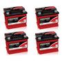 Kit 4 Baterias Estacionárias Freedom Df 700 50 Amperes