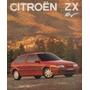 Folder Catálogo Folheto Prospecto Citroën Zx 16v (ct019)