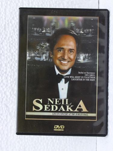 Dvd - Neil Sedaka - Live In Concert At The Jubilee Hall Original