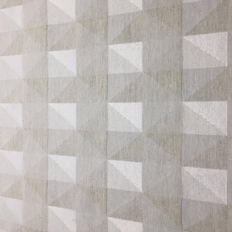 Tecido para estofado Jacquard geométrico  Linen 31
