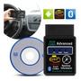 Scanner Obd Advanced Bluetooth Diagnóstico Carros Veicular