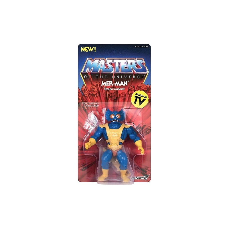 Mer-Man Vintage Masters of The Universe - MOTU - Super7