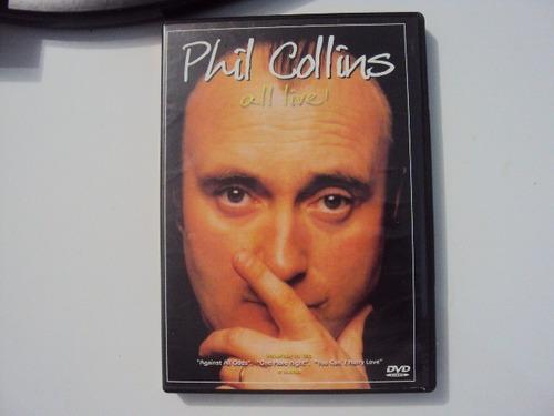 Dvd Phil Collins All Live E2b6 Original