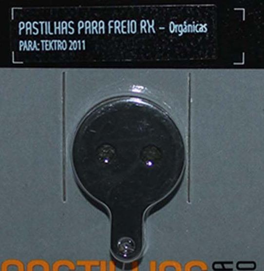 PASTILHA FREIO DISCO TEKTRO 2011
