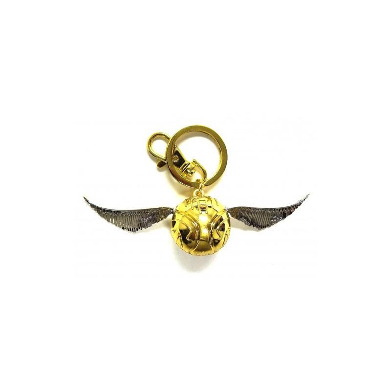 Chaveiro Pomo de Ouro Harry Potter Monogram - Pewter Snitch