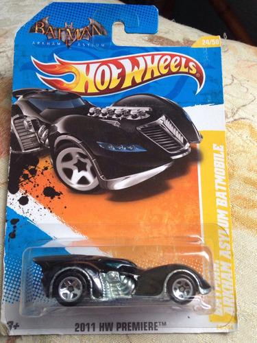 Bx116 Hw 2011 Hot Wheels Batman Batmóvel Batmobile Arkham Original