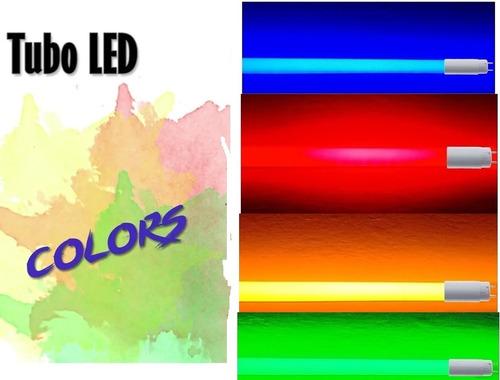 Lâmpadas Tubo Led T8 18w Colorida Cores Escolha Promoção!!! Original