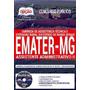 Apostila Emater mg 2018 Assistente Administrativo Ll [cd G