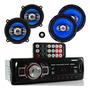 Kit Alto Falante 5 E 6 Pol Radio Usb Bluetooth Gol G2 G3