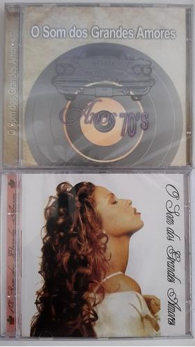 Cd O Som Dos Grandes Amores Anos 70 E 80 (kit Com 2 Cds) Original