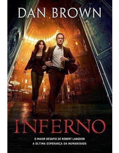 Livro Inferno Capa Do Filme - Dan Brown * Original