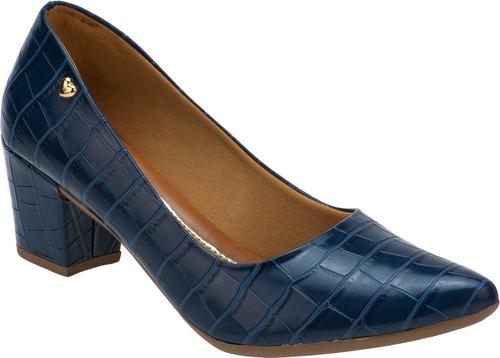 Sapato Scarpin Confort Salto Baixo Grosso Promoção |  Original