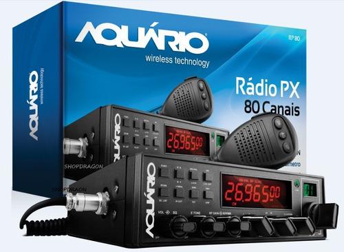 Rádio Px Aquário Rp-80 Homologado Pela Anatel - Versão V11 Original