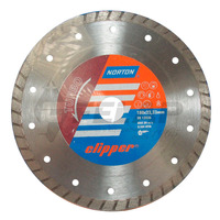 Disco Diamantado Clipper Norton Turbo 180 x 8 x 22,23 mm