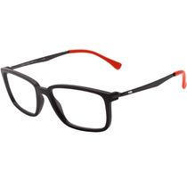 5c7bf46c9 0hb Duotech M 93140 - Óculos De Grau Matte Graphite D. Red