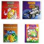 4 Livros Infantis Quebra Cabeças