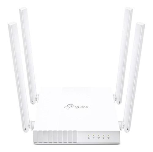 Roteador Tp-link Wi-fi Ac750 Dual Band 4 Antenas Archer C21 Original