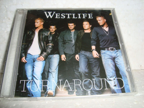 Cd Westlife Turnaround 2003 Br - Z E R A D O - Super Raro Original