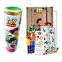 Toy Story Tubo De Histórias Para Colorir Livro Canetinhas