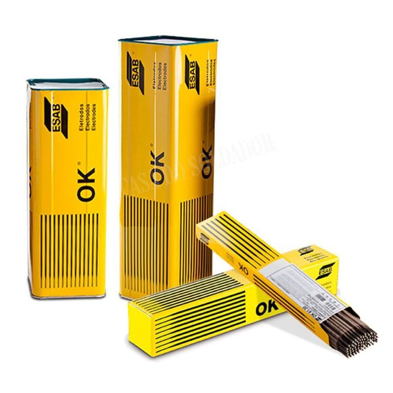 ELETRODO OK 84.56 E6-55R 4.00 EMBALAGEM COM 25KG ESAB