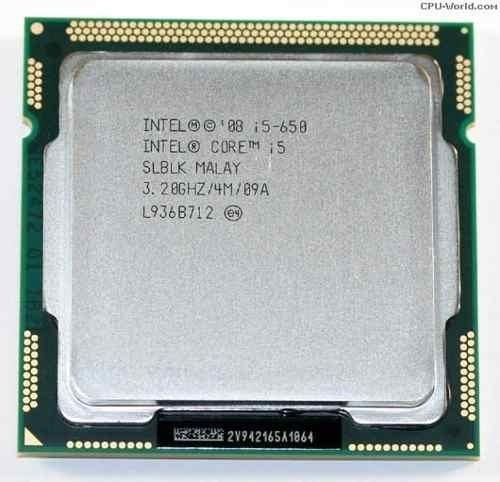 Processador Intel Core I5 650 Lga 1156 3.20ghz 4m C/ Cooler