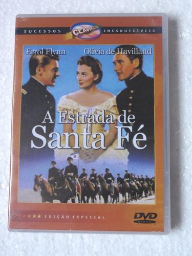 Dvd A Estrada De Santa Fé (1940) Novo  Lacrado!! Original