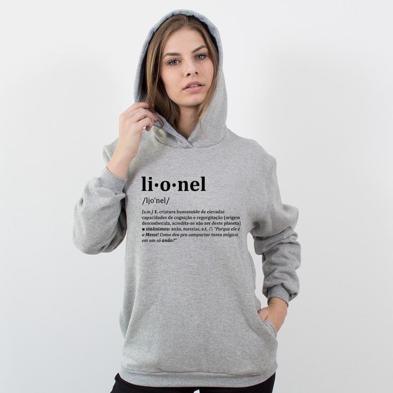 MOLETOM CINZA - LIONEL