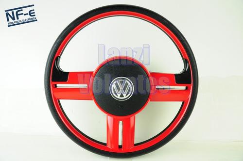 Volante Esportivo Rallye Santana Gol Bola G2 G3 G4 Vermelho Original
