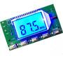 4x Transmissor De Rádio Fm Display Estereo Pll 87 108 Mhz