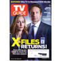 Tv Guide: Gillian Anderson & David Duchovny/ Arquivo X