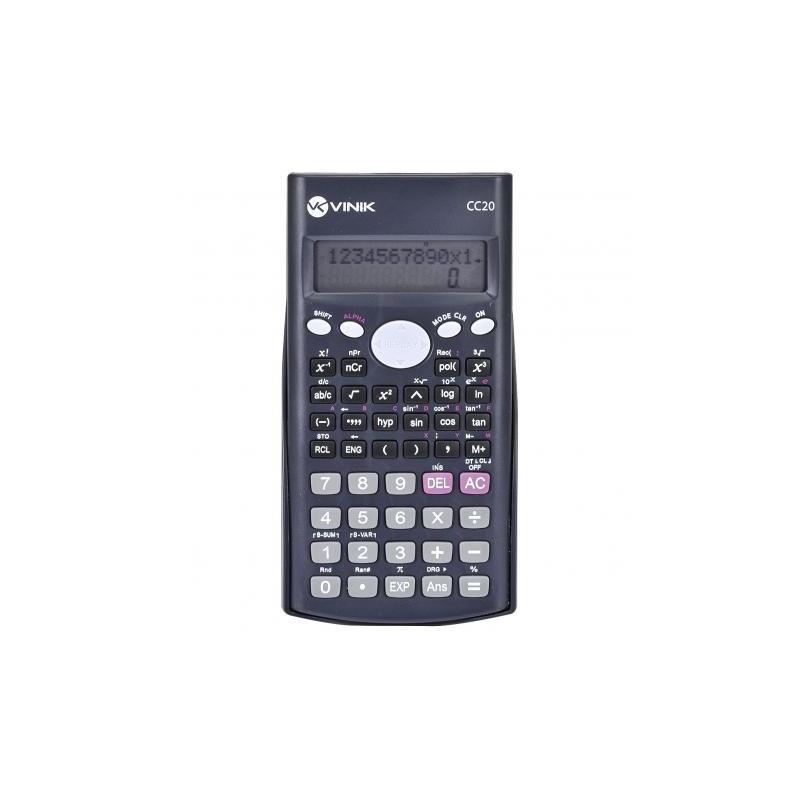 Calculadora Científica Vinik CC20 Preto