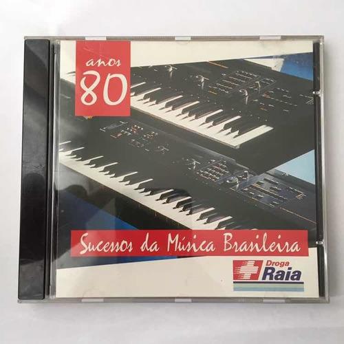 Cds Sucessos Da Musica Brasileira Anos 60 E 80- Kit Com 2 Original