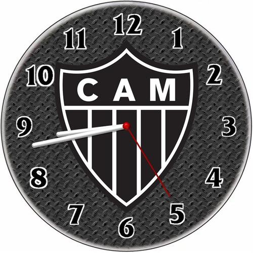 Relógio Parede Decorativo Atlético Mineiro Vintage Barato Original