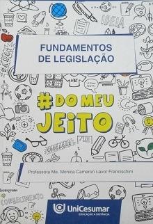 Fundamentos De Legislação Prof. Esp. Monica Original