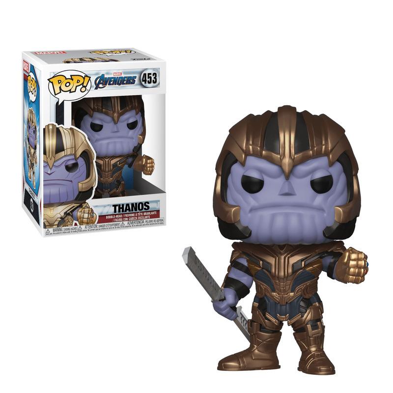 Thanos Pop Funko #453 - Vingadores Ultimato - Marvel