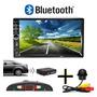 Central Multimidia Mp5 Bluetooth Espelhamento Usb Sd Com Sensor Estacionamento E Câmera De Ré Tartaruga