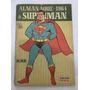 Almanaque De Superman 1964 Original Ebal Frete Grátis
