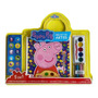 Peppa Pig Meu Kit De Artes Livro Colorir Adesivos Aquarela