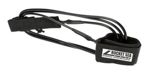 Leash Prancha Surf 6´x 6,5mm Leash Strep 2 Giradores - Rocketsea Original